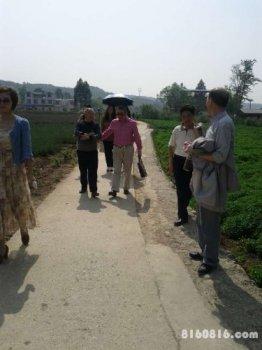 在安县农业科普基地进行调研