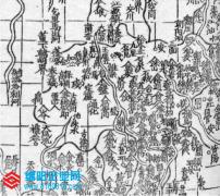 禹生石纽在何处,历史地图有标注